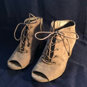 Maurices Open-Toed Heels